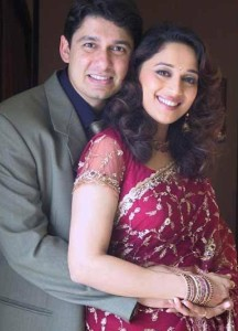 Husband Shriram Madhav Nene