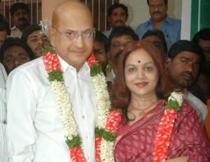 Step mother Vijaya Nirmala