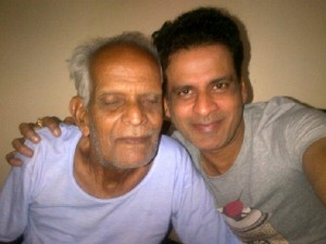Manoj Bajpai family photos father