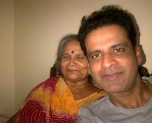 Manoj Bajpai family photos mother