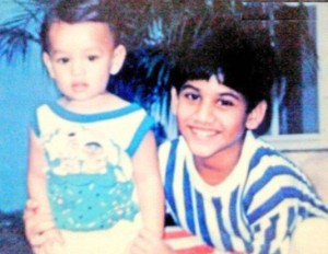 Naga Chaitanya childhood pictures 3