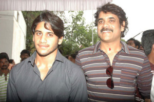 Naga Chaitanya family photos father Nagarjuna Akkineni