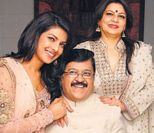 Priyanka Chopra family photos parents