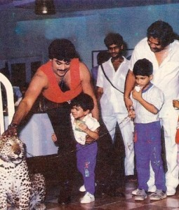 Ram Charan Teja childhood pictures 4