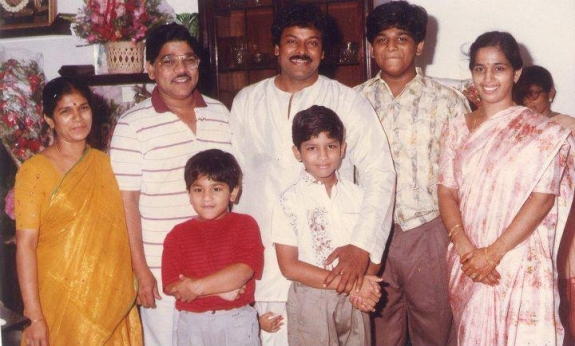 ram charan teja family childhood photos celebrity