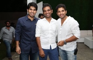 Allu Sirish, Allu Venkatesh and Allu Arjun