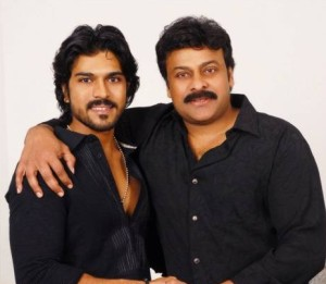 Ram Charan Teja family photos father Chiranjeevi