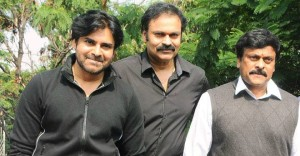 Uncle Pawan Kalyan, Nagendra Babu and Chiranjeevi