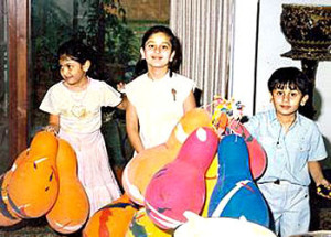 Ranbir Kapoor childhood pictures 1