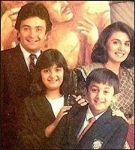 Ranbir Kapoor childhood pictures 2