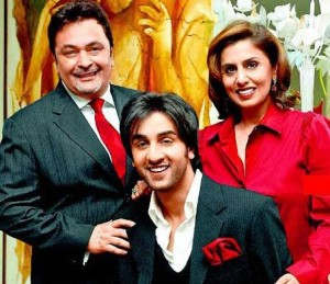 Ranbir Kapoor family photos parents father Rishi Kapoor and mother Neetu Singh