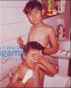 Randeep Hooda childhood pictures 2
