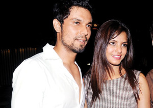 With Neetu Chandra