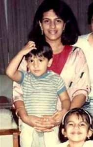 Ranveer Singh childhood pictures 6