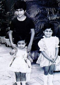 Saif Ali Khan childhood pictures 7