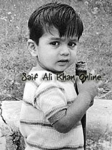 Saif Ali Khan childhood pictures 8