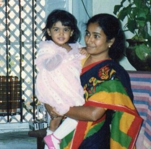 Samantha Ruth Prabhu childhood pictures 1