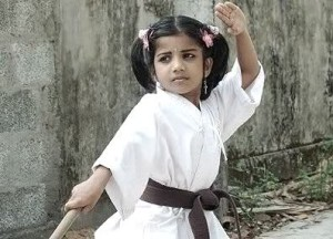 Samantha Ruth Prabhu childhood pictures 2