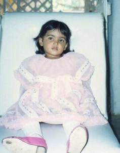 Samantha Ruth Prabhu childhood pictures 3
