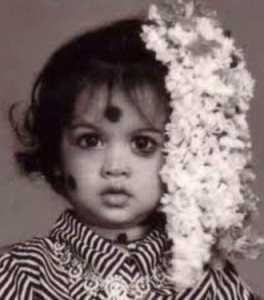 Samantha Ruth Prabhu childhood pictures 4
