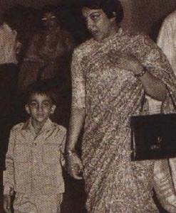 Sanjay Dutt childhood pictures 2
