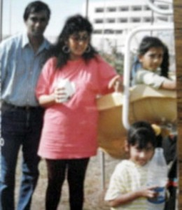 Sarah Jane Dias childhood pictures 2