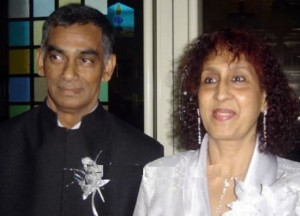 Sarah Jane Dias parents