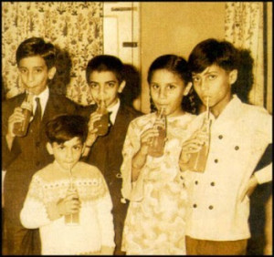 Shahid Kapoor childhood pictures 1