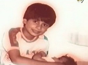 Shahid Kapoor childhood pictures 4