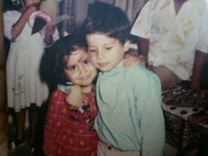 Shahid Kapoor childhood pictures 9