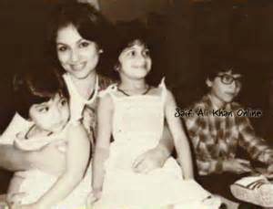 Soha Ali Khan childhood pictures 1