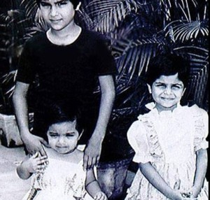 Soha Ali Khan childhood pictures 2