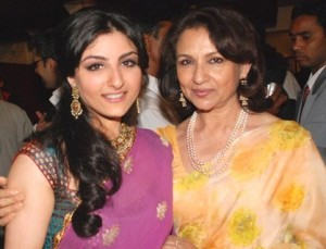Soha Ali Khan family photos mother Sharmila Tagore