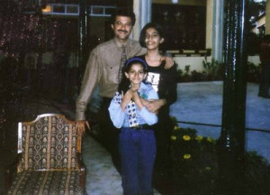 Sonam Kapoor childhood pictures 1