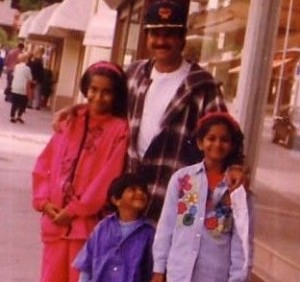Sonam Kapoor childhood pictures 14