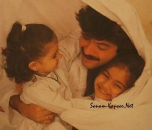 Sonam Kapoor childhood pictures 2