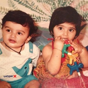 Sonam Kapoor childhood pictures 3