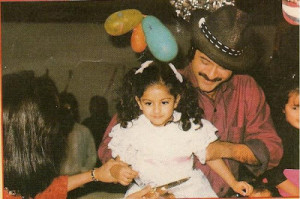 Sonam Kapoor childhood pictures 5