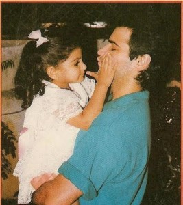 Sonam Kapoor childhood pictures 6