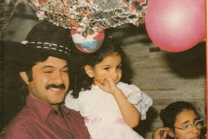 Sonam Kapoor childhood pictures 7