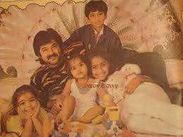 Sonam Kapoor childhood pictures 9