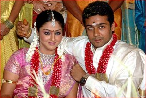 Suriya family photos wife Jyothika