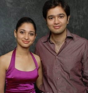 Tamannaah Bhatia family brother