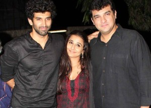Brother in Law Aditya Roy Kapur  and husband