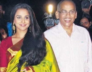 Vidya Balan family photos father P. R. Balan