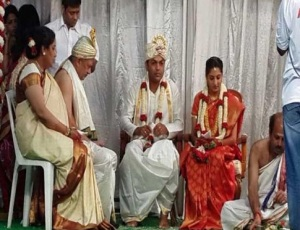 Ananth Nag daughter wedding photos