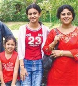Arjun Sarja daughters Anjana