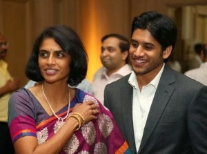 Sister Lakshmi with Naga Chaitanya