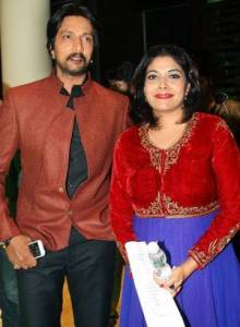 Kannada actor Sudeep wife Priya