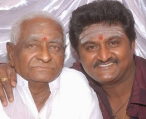 Komal Kumar parents father Shivalingappa